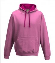 Hoodie - Candy Floss Pink -  Hot Pink