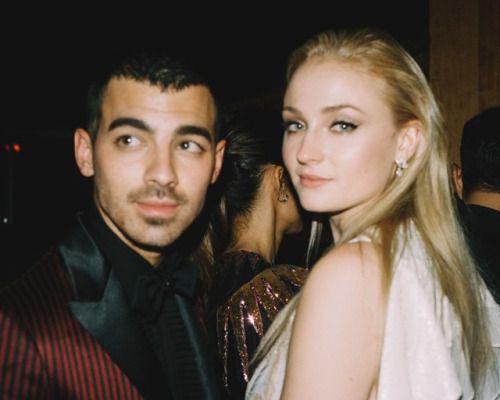 Joe Jonas and Sophie Turner by Medhi Lacoste.