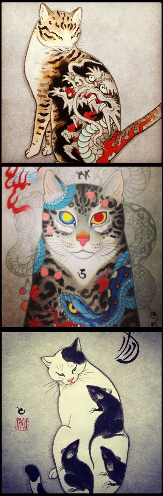 Japanese tattoo art, Horitomo- last one but only of my cat jake