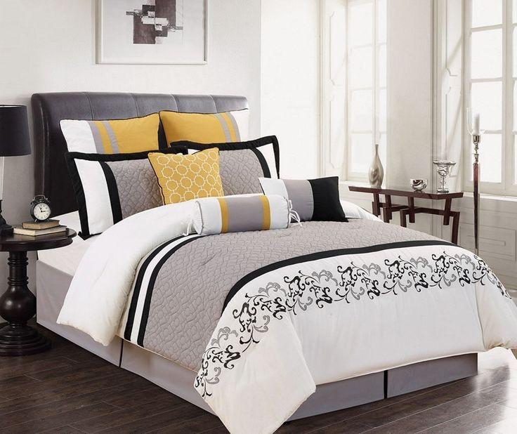 Best 10+ Gray Yellow Bedrooms Ideas On Pinterest