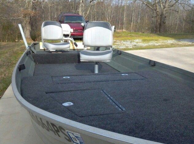 V Hull Aluminum Boat Mod