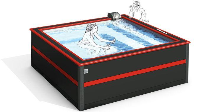 doodoopool petite piscine design pas cher