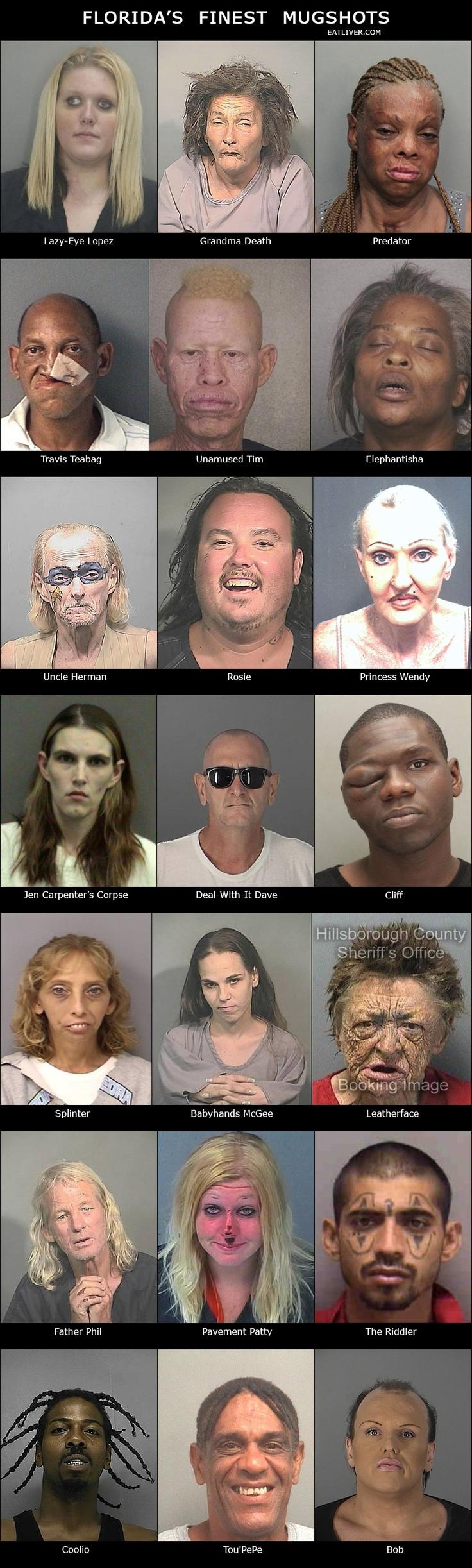 Florida's finest mugshots
