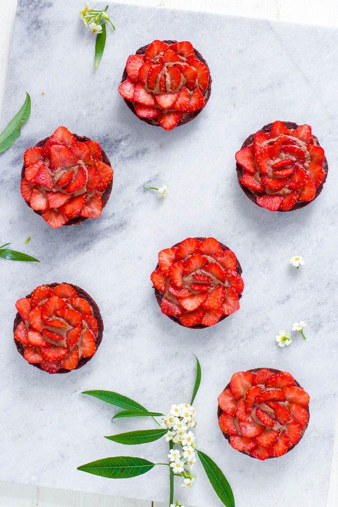 Strawberry tartlets - Zoetrecepten