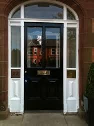 Image result for Glazed villa front door and sidelights