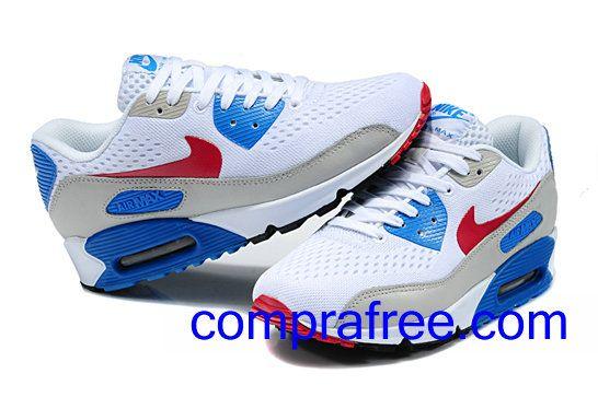 Comprar baratos mujer Nike Air Max 90 Zapatillas (color:rojo,blanco,azul,negro) en linea en Espana.