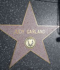 Star for recognition of film work at 1715 Vine Street on the Hollywood Walk of Fame. She has another for recording at 6764 Hollywood Blvd.