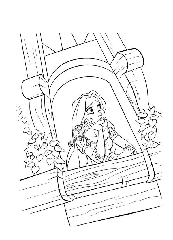 153 best images about tangled colouring pages on pinterest