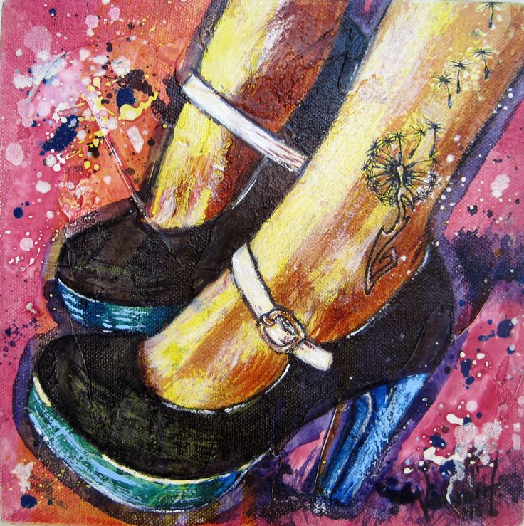 """In These Shoes"" by Vernon Fourie 