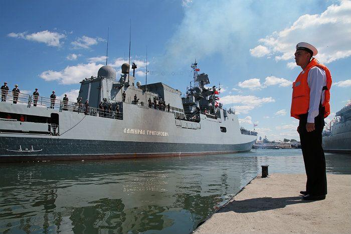 Ракетный корабль «Мираж» ЧФ войдет в состав соединения в Средиземном море