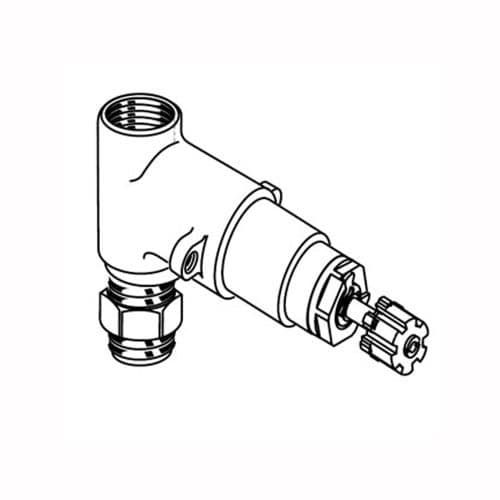 American Standard R711 3/4 Inch Volume Control Valve Only - Less Handle