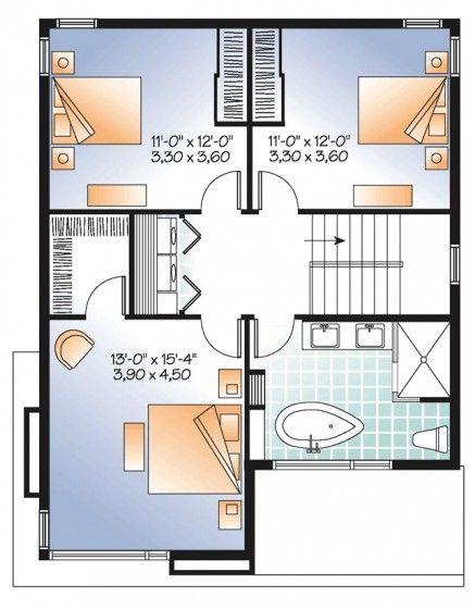 Mejores 28 im genes de dise os y planos de casas peque as for Disenos de casas pequenas