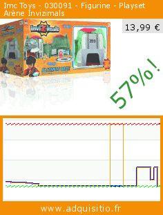 Imc Toys - 030091 - Figurine - Playset Arène Invizimals (Jouet). Réduction de 57%! Prix actuel 13,99 €, l'ancien prix était de 32,58 €. https://www.adquisitio.fr/imc-toys/030091-figurine-playset