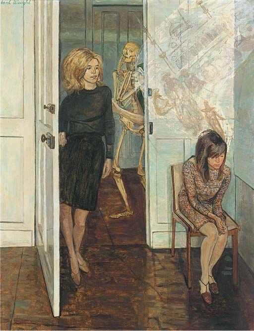 Thoughts of the Girls, Carel Weight. (1908 - 1997)