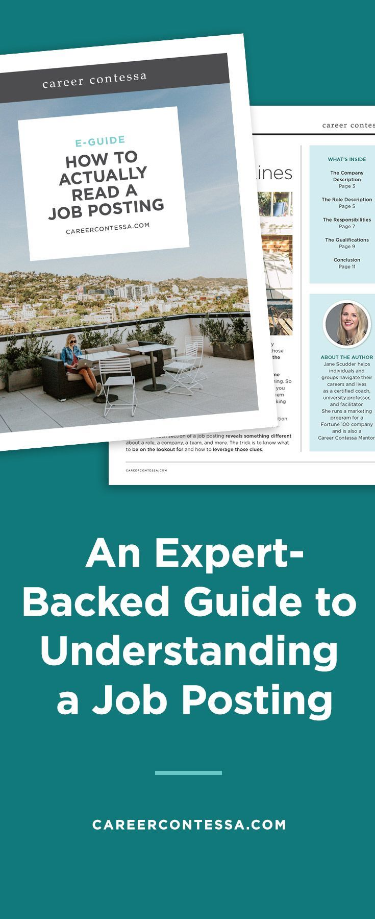 Apparently, there's a right way to read a job posting but also a wrong way—and most of us do it wrong. Who knew? That's why we asked one of our career mentors to write us an exclusive guideon reading between the lines of every job listing out there.   Career Contessa #careeradvice #jobs