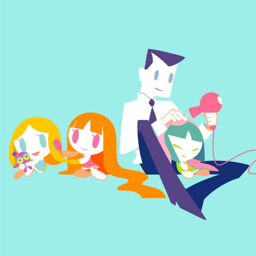 powerpuff girls, bubbles, and blossom image