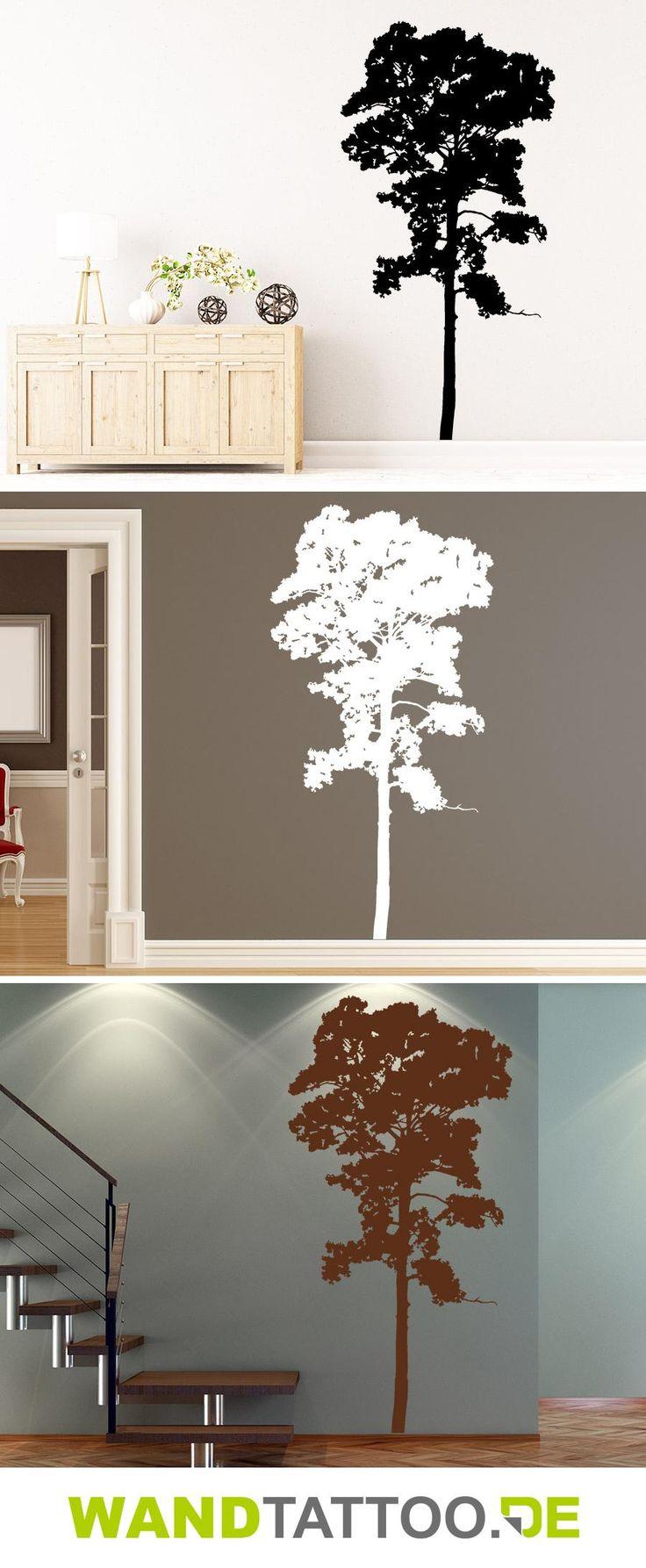 Wandtattoo Baum Umriss hier entdecken. Spitzenqualität aus Deutschland | schnelle Lieferung | portofrei (D) bei WANDTATTOO.DE bestellen!