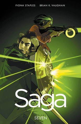 Saga, Vol. 7 (Saga #7) by Brian K. Vaughan, Fiona Staples (Artist) #sequentialart #scifi #spaceopera #graphicnovel