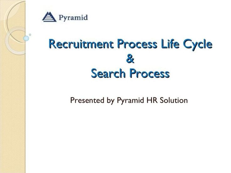 Recruitment Process and how it works. Recruitment life cycle process complete by samrifay via slideshare.