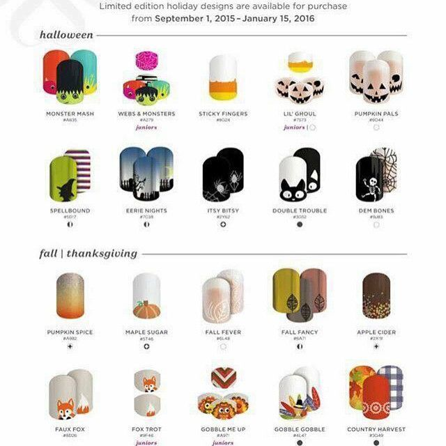 Who loves #halloween as much as I do!? Well we have amazing #nailwraps for you! Check out my website or message me with any questions  #Jamberry #amazing #love #lacquer #nails #nailart #Nontoxic #latexfree #glutenfree #longlasting #motherdaughter #canada #calgary #yyc #USA #freesample #f4f #fun #igetpaidtoparty #youcanto