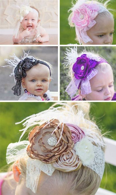 Flower Feather Boho Headband