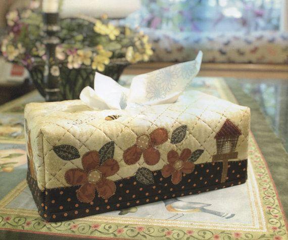 No.04 PDF patrón de cómo ha de hacer sol día tejido caja funda soporte coser tejido apliques patchwork regalo hecho a mano