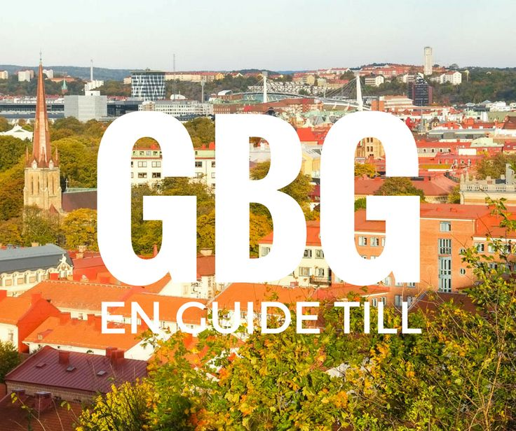 Gothenburg, this beautiful Nordic city | En veckoslutsguide till ett höstigt Göteborg http://malinlundsten.com/2016/10/en-guide-till-goteborg/
