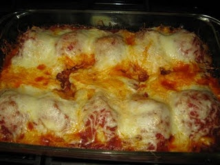 Stuffed Shells with Cheese   and  Stuffed Shells with Meat