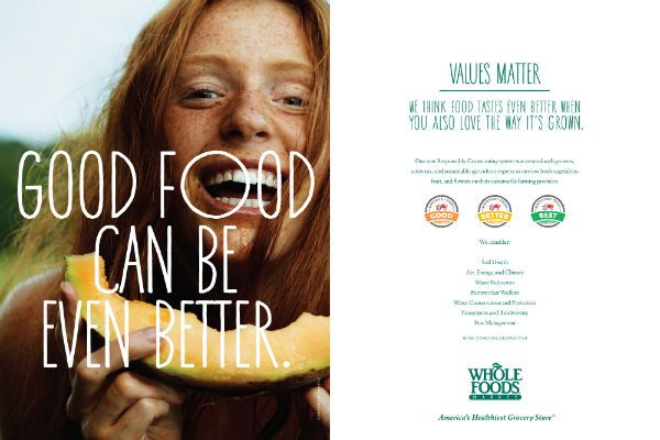 Whole Foods Ad Campaigns