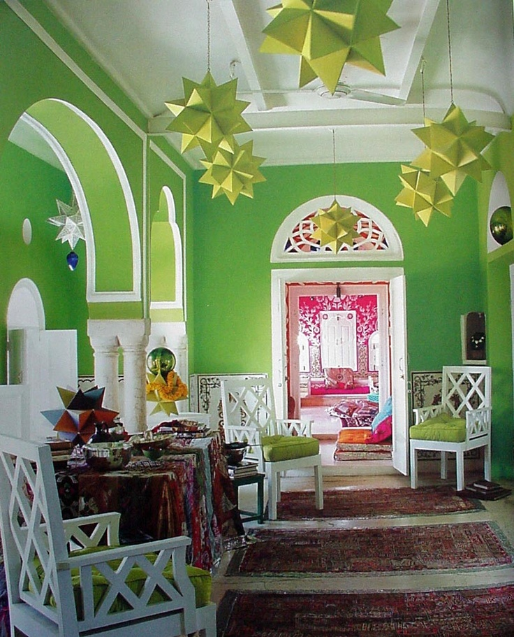 Lime Green Room...! This Makes Me Giggle As I Painted Our First