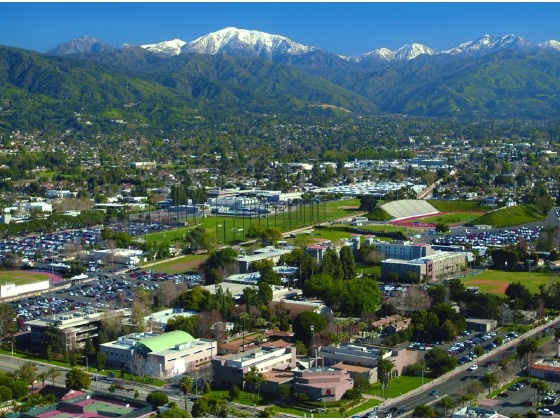 Azusa Pacific University - Azusa, California  mountains on one side..beach on the other. oh yeee! (: