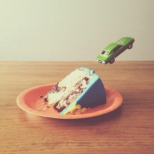 Brock Davis et son univers poétique - cake