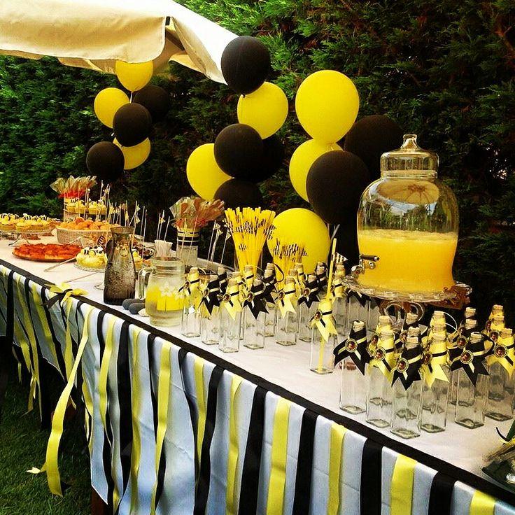 Bee themed 1st birthday party / Arımaya temalı 1.yaş doğumgünü partisi