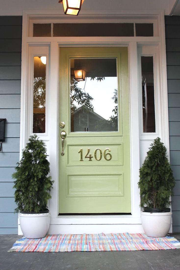 Front door colors for beige house - Popular Front Door Paint Colors