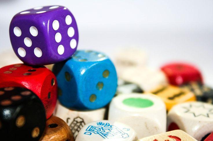Cubo, Jogar, Colorido, Números De Olho, Seis, Cinco