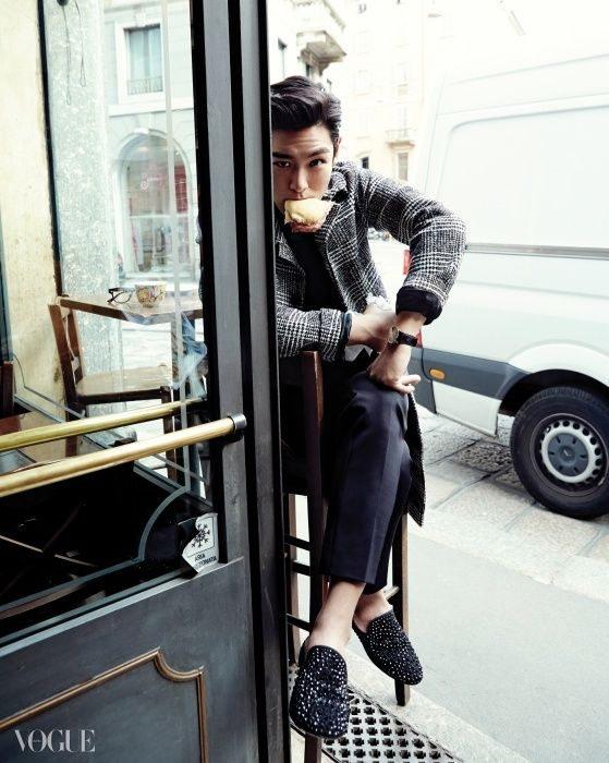 """ [OFFICIAL] TOP for Vogue Korea (1) """