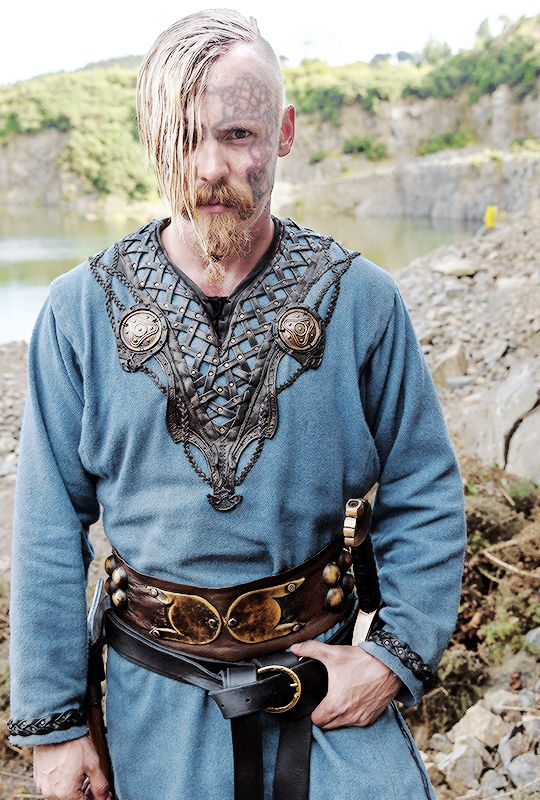 Vikings History- That neckline detail is incredible