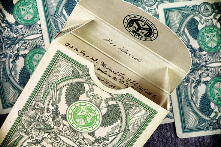 Card Flash: Legal Tender Playing Cards