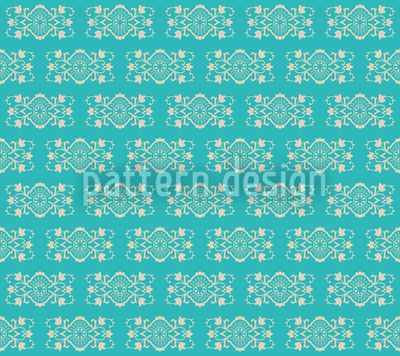 Turquoise Royal designed by Viktoryia Yakubouskaya, vector download available on patterndesigns.com