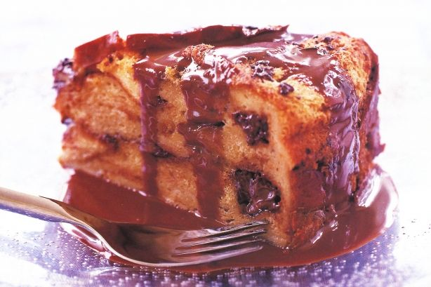 Queen Elizabeth II is reportedly partial to a bread and butter pudding, so as we're celebrating her birthday today, we thought she wouldn't mind this delicious variation.