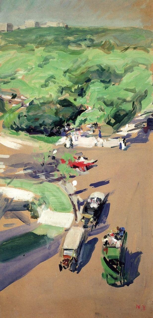 Central Park, New York Joaquin Sorolla y Bastida -1911