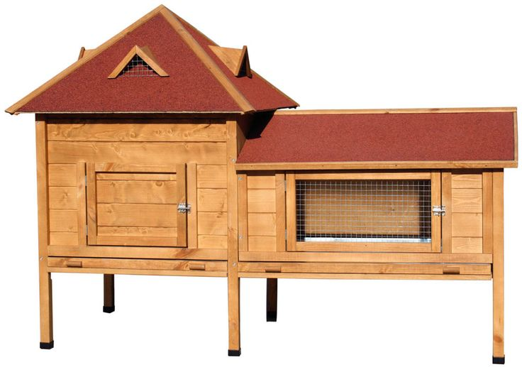 XXL-Kleintierstall-Residenz Kaninchenstall Hasenstall Kaninchen Nagerstall NEU