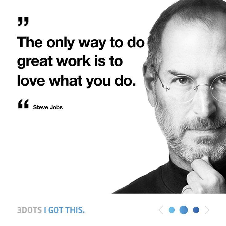 Inspirational words! 😍 He's a legend!