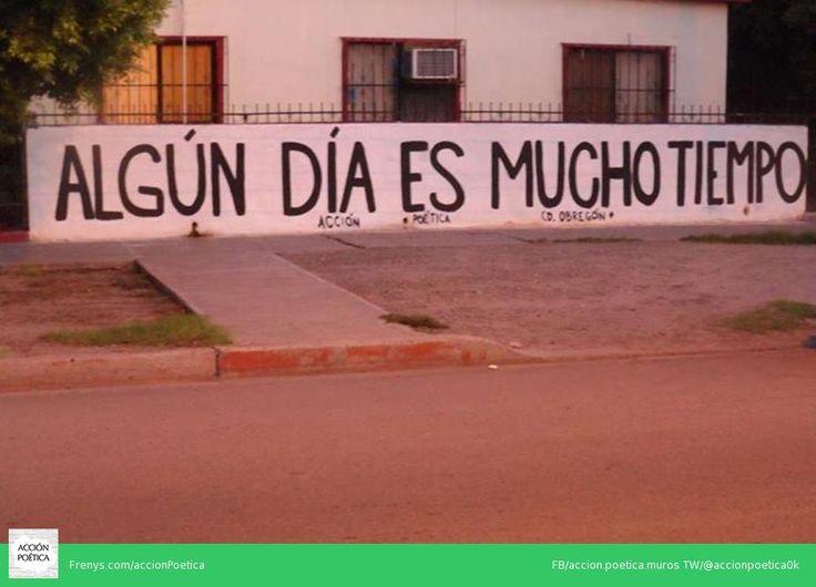 Acción poética CD. Obregon #streetart