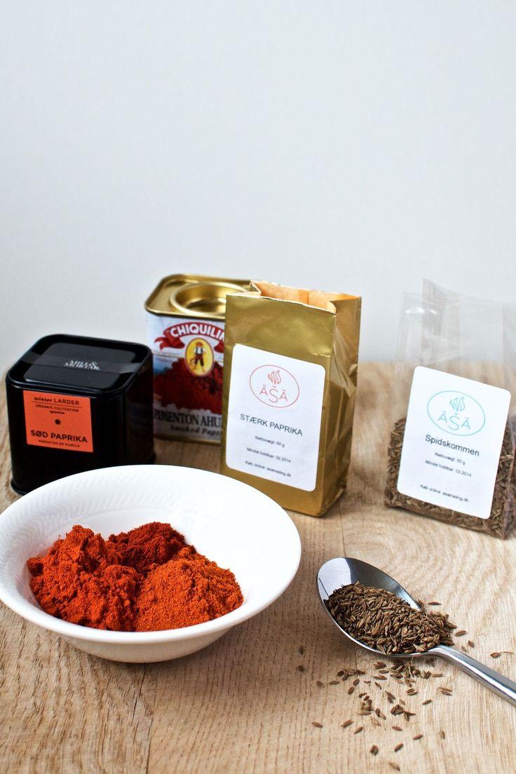 Krydderier til ungarsk gullashsuppe