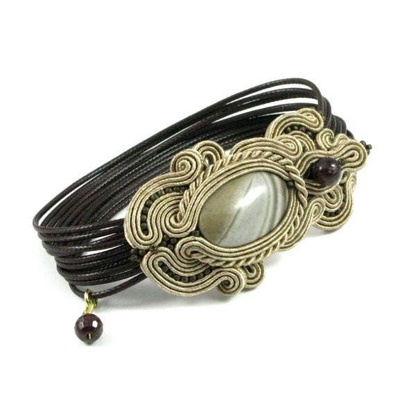 Modern Soutache Bracelet …