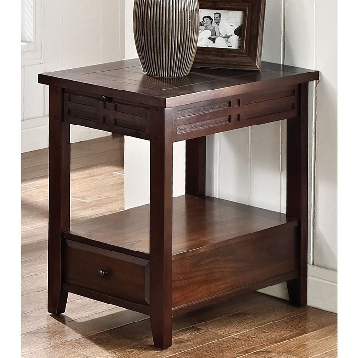 The Crosby Chair Side Table Is A Perfect Complement To Any