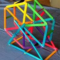 After a hot summer you may find that your family can collect quite a few Popsicle sticks. Instead of throwing them away, why not reuse them to build a model Ferris Wheel that really spins. You will need at least 50 Popsicle sticks to complete this project so you may want to top up your own collection with sticks from a craft store. For a brighter,...