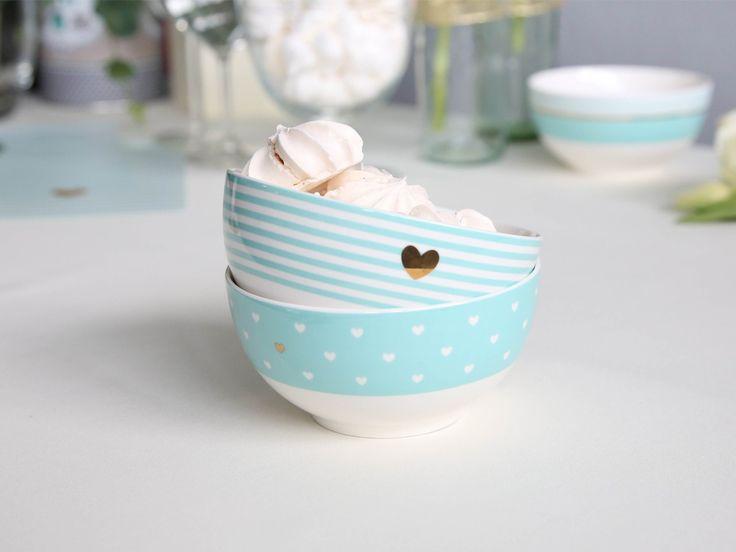 Salaterka / miseczka porcelanowa 14 cm Tiffany