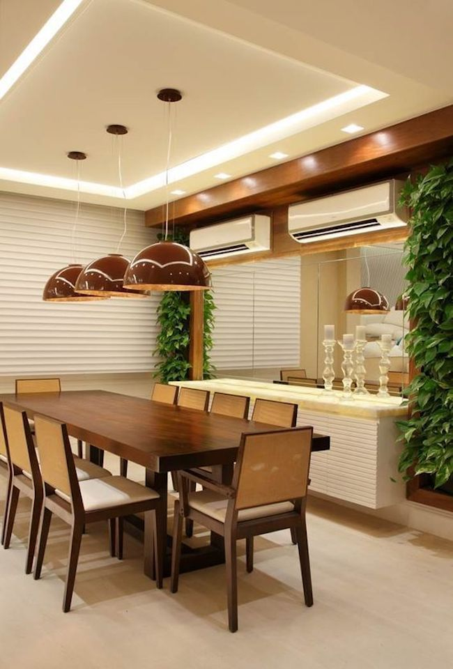 Sanca Open What Is It And Another 60 Ideas To Inspire You In 2020 Ceiling Design Living Room Kitchen Room Design Dining Room Small